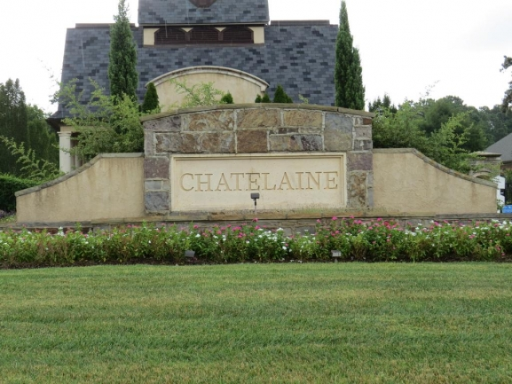 Chatelaine neighborhood entrance